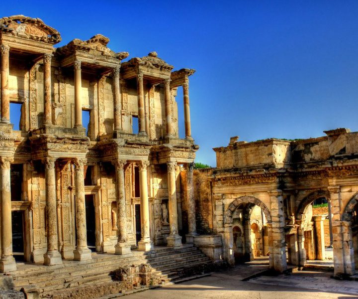 Celsus Library at Ephesus Roman remains