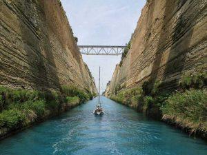 Corinth Canal Greece