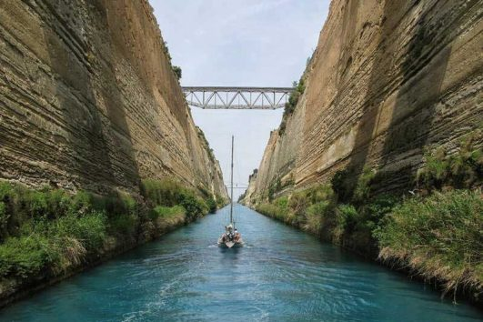 Corinth Canal Greece
