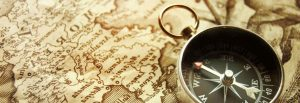 Map and compass for sitemap