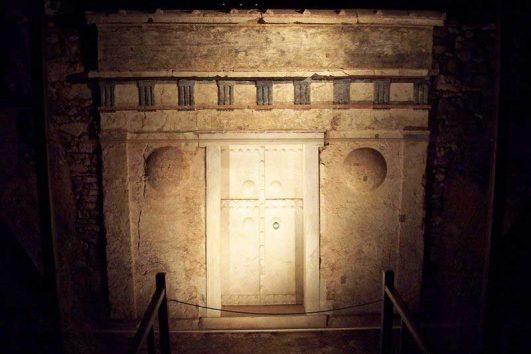 Tomb of Alexander the Great at Vergina