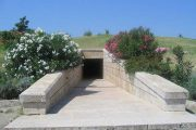Entrance to the tomb at Vergina